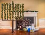 pine tree menorah